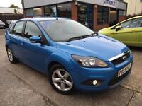 Ford Focus 1.6 ( 100ps ) 2009 Zetec FULL SERVICE HISTORY*** 2 OWNERS FROM NEW