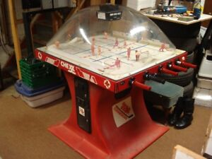 Original CHEXX Bubble Hockey Coin-Op game.  Fully operational