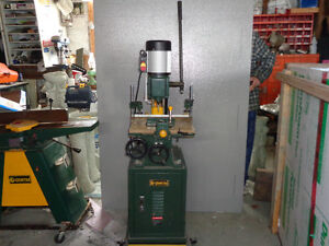"""Craftex 6"""" Jointer and Mortising"""