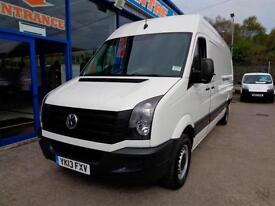 2013 VOLKSWAGEN CRAFTER CR35 TDI - AWAITING PREPARATION VAN LWB DIESEL