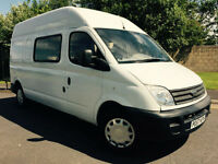 2007 57 LDV MAXUS 3.5T DIESEL 95 LONG WHEEL BASE 9 SEAT CREW VAN *NO VAT*
