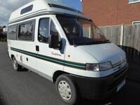 Auto Sleeper Symphony, 2 berths, 3 seatbelts, end kitchen Motor Home for Sale