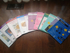 Large Collection of Piano Lesson Books