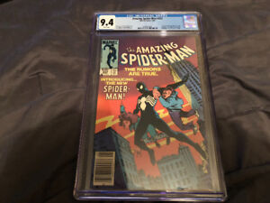 Amazing Spider-Man 252 Cgc 9.4 Comic