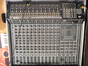 12 Channel Full PA System with Speakers