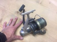 DAIWA EMBLEM 4500T SPOD REEL / BIG PIT / LOADED WITH NEW BRAID £35