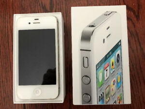 iPhone 4S, 32 Gb, White, Excellent condition, in original box