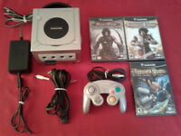 Ensemble Gamecube Platine + 3 Jeux Prince of Persia