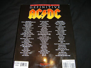 THE DEFINITIVE AC/DC SONGBOOK BRAND NEW NEVER TOUCHED 800 PAGES London Ontario image 3