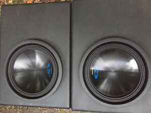 Alpine type s subwoofers  Cambridge Kitchener Area image 1