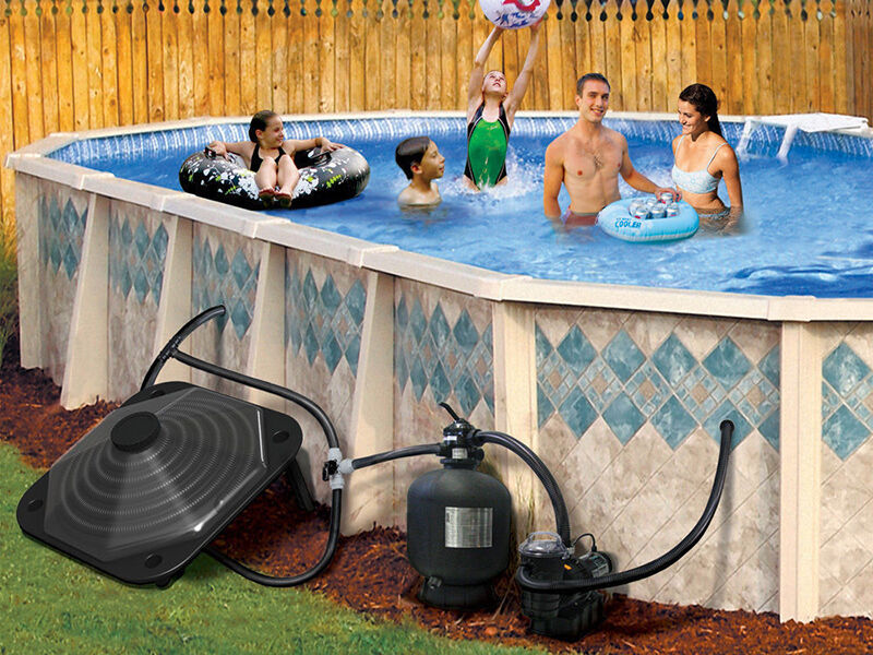 How To Install An Above Ground Pool Heater Ebay