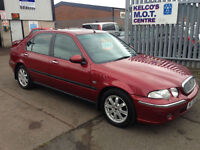 Rover 45 1.6i Impression S A FILE FULL OF SERVICES HISTORY!!