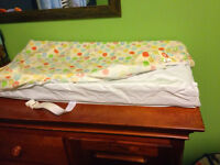 Change Pad w/ fitted sheets