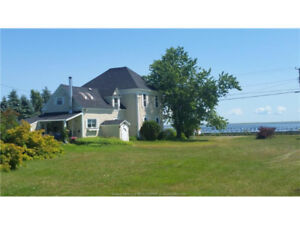 3000 sqft in 18 acres on bouctouche bay