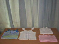 Girl Tops Long Sleeves & Tank Tops, QTY = 4, BRAND NEW