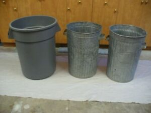 Garbage cans - 3