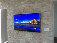 TV Wall Mounting Service - Professional - Same day. 416-700-6001