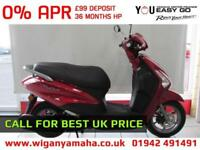 YAMAHA DELIGHT 125cc 99 DEPOSIT 0% APR FINANCE. AUTOMATIC RETRO SCOOTER...