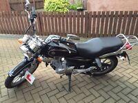 125cc Yamaha YBR custom. £2k ono