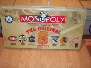 NHL Original Six Monopoly Game