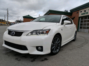 Lexus CT200h hybride Fsport edition