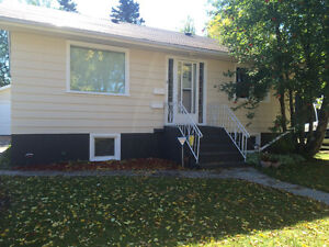 2 bedroom bungalow west hill location with basement suite