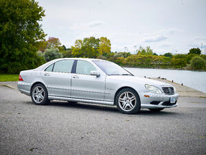2003 Mercedes-Benz S-Class S55 AMG Sedan Supercharged