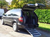 2007 Chrysler Voyager 2.5CRD SE Touring**DISABLED WHEEL CHAIR + LOW MILES 42K***