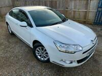 ✿2011/61 Citroen C5 1.6 HDI VTR+ NAV, White, Diesel ✿GREAT SPEC ✿NICE EXAMPLE✿