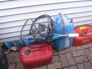 1968 18 hp Evinrude outboard for sale.