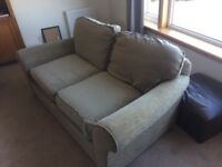 M&S Bed settee. Fold out double bed. VGC. Just washed, all zips intact. £160 ono
