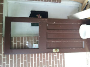 Used Wooden Entry door for sale