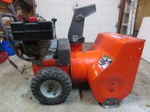 Noma 8 HP 24 Inch Snowblower Works Excellent Starts First Pull