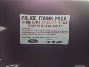 Police Trunk Pack