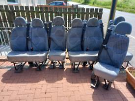 Transit T430 minibus seats