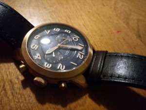 Stainless steel FOSSIL watch (located in lunenburg)