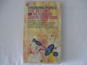 Frederick Pohl's Second Reader of Science Fiction paperback
