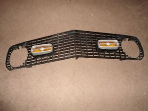 1970 70 Mustang Mach 1 Grille with Fog Lights OEM Ford Parts