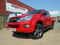 Isuzu D-Max 2.5 TD Fury Double Cab Pickup 4x4 4dr ONLY 28k FSH 1/OWNER R/CAM AC for sale  Peterborough, Cambridgeshire