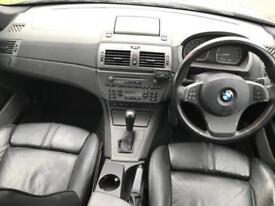 BMW X3 3.0I AUTO SPORT (2004 04 REG) + PANORAMIC ROOF + HEATED LEATHER + SAT NAV