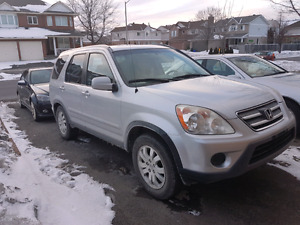 2006 Honda CRV EXL AWD top of the line
