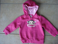 Baby Girls 18 Month Hoodie