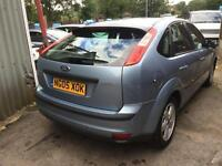 2005 Ford Focus 1.6 Zetec Climate,NEW SHAPE,AUTOMATIC,BLUE,50,000 MILES