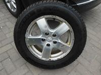 Brand new tire on alloy rim