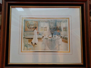 Beautifully Framed Picture