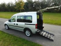 2012 Vauxhall Combo Tour 1.3 CDTI, Diesel, Automatic. WHEELCHAIR ACCESSIBLE WAV