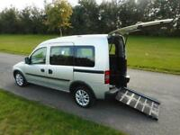 2012 12 Vauxhall Combo 1.3 CDTI Automatic ONLY 30K Wheelchair Accessible Vehicle