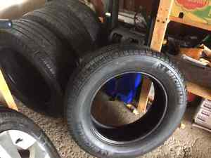 all season Michelin tires 225/65/17