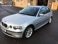 5404 BMW 316 1.8 ti SE Compact Silver 3 Door 75148mls