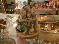 Vintage Large Storytime Porcelain Figurine at KeepSakes